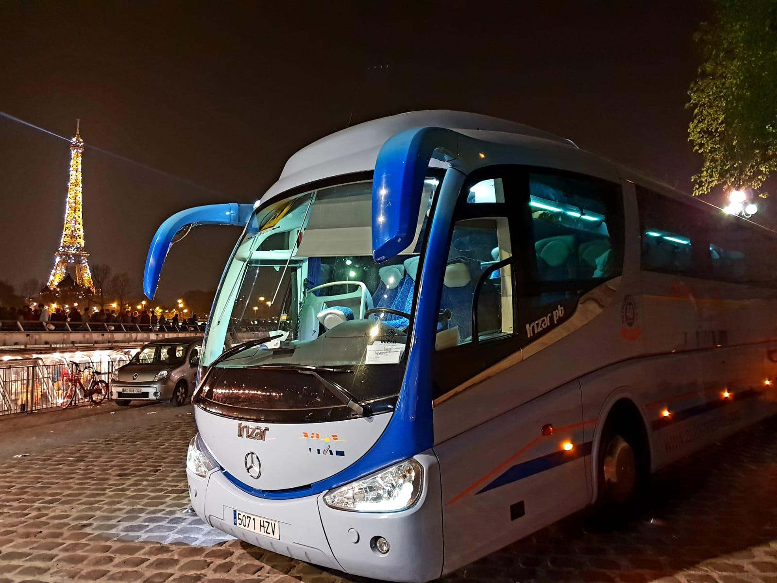 Autocares Vial servicio autobuses en Valencia